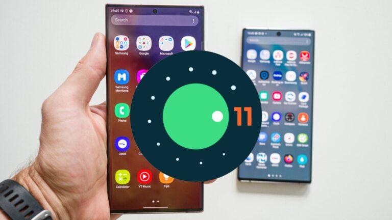 Samsung Android 11 alacak modelleri açıkladı