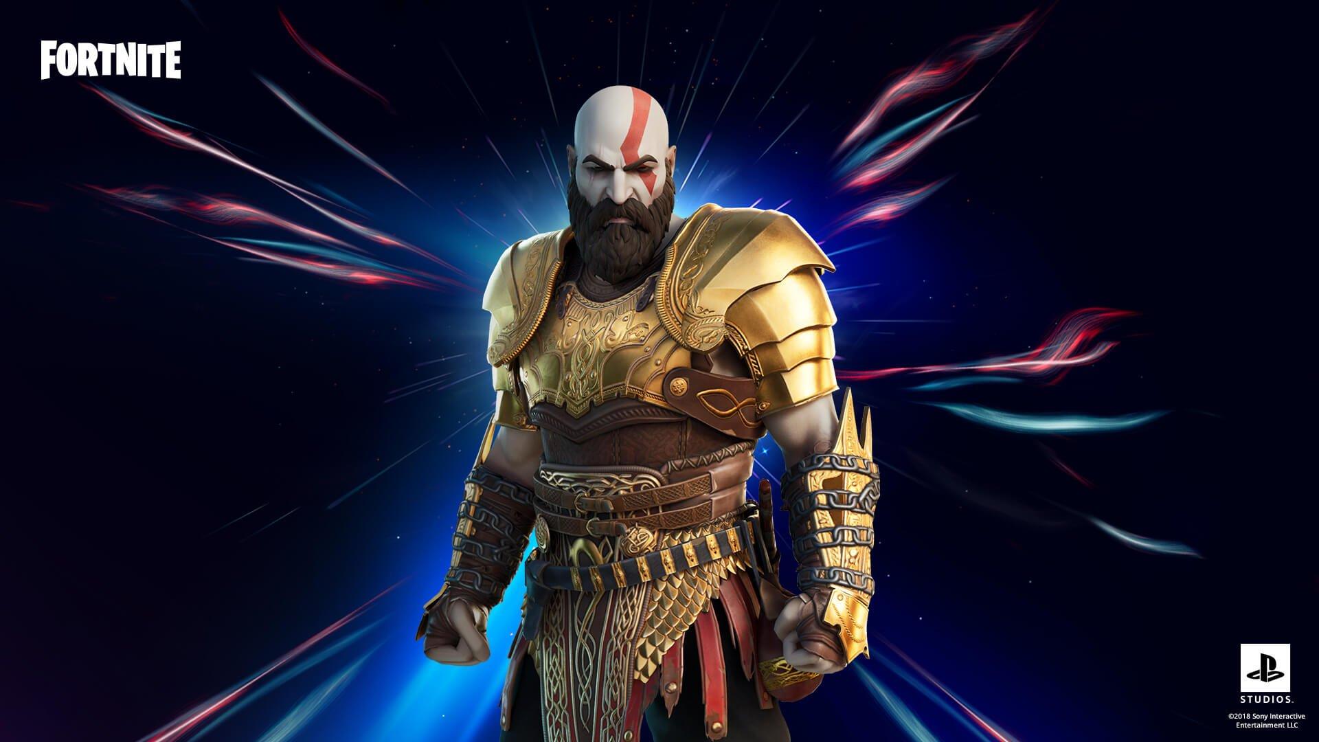 Fortnite için Kratos