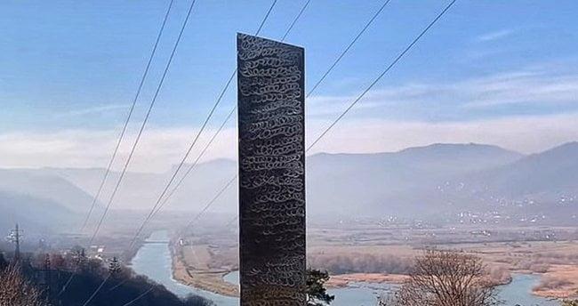 gizemli monolit Göbeklitepe'de