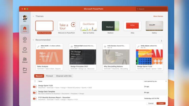 Microsoft Office Apple M1 için güncellendi