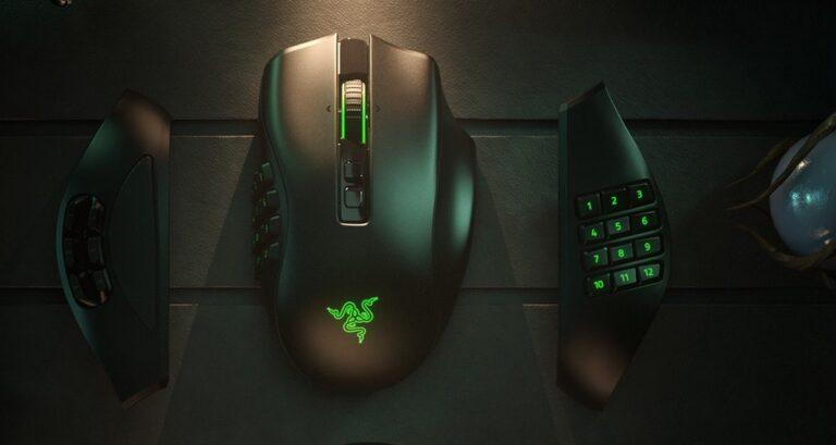 Razer Naga Pro mouse, adeta ikinci bir klavye görevi üstleniyor