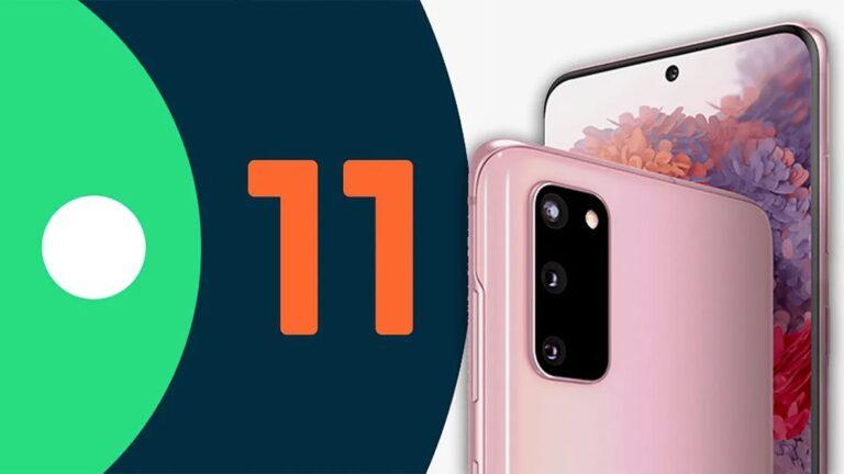 Galaxy 20 için Android 11 güncellemesi Türkiye'de!
