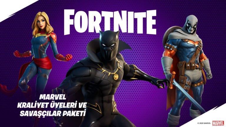Black Panther ve Captain Marvel Fortnite'a geldi
