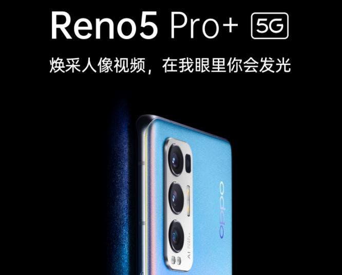 OPPO Reno 5 Pro Plus çok yakında geliyor