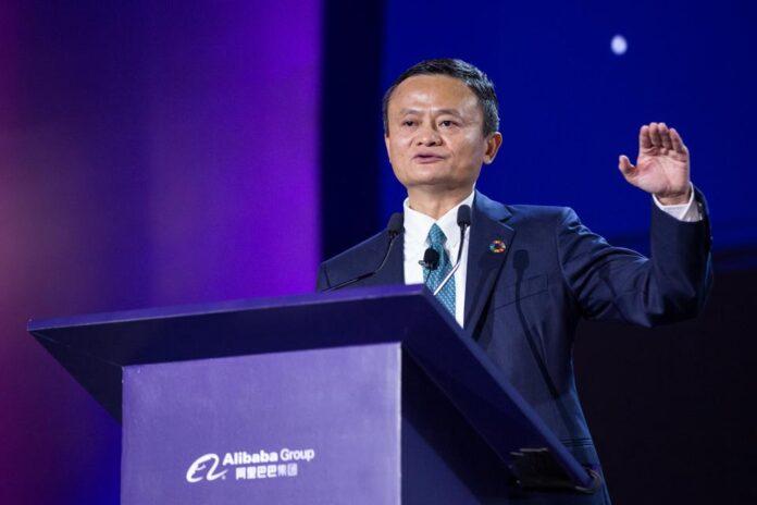 Ma, Alibaba'nın başkanı