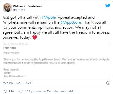 Apple, Mac uygulaması Amphetamine'i yasaklamayı düşünüyor