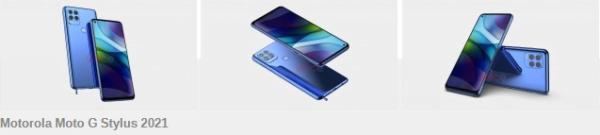 Motorola Moto G Stylus 2021, oldukça farklı görünüyor