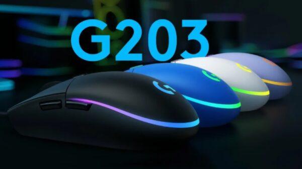 Logitech G203 oyuncu mouse'u ile sadelik ve performans bir arada