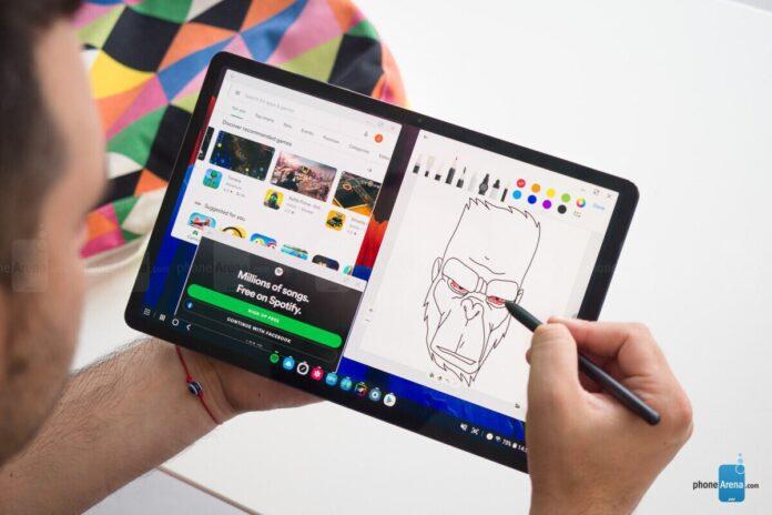 Samsung, Galaxy Tab S7 Lite ve Galaxy Tab S7 Plus üzerinde çalışıyor