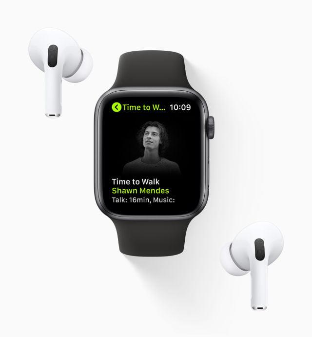 """Apple Watch ve Fitness+ için """"Yürüyüş Zamanı"""" özelliği geldi"""