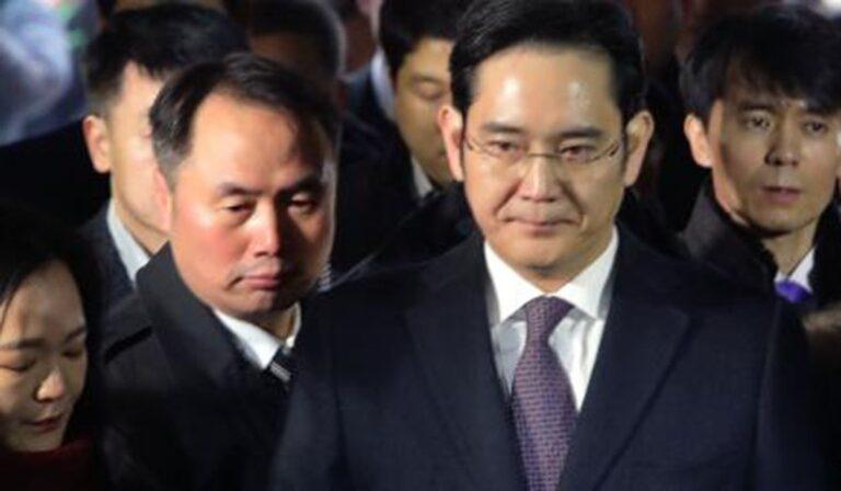 Samsung lideri Lee Jae-yong 2,5 yıl hapis cezasına çarptırıldı