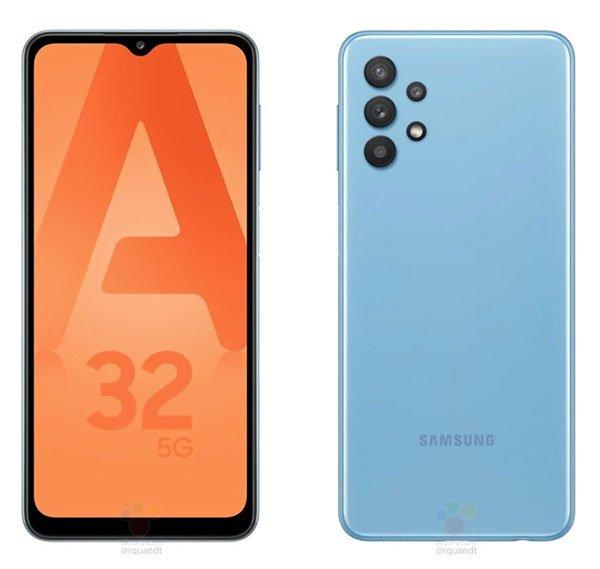 Samsung Galaxy A32 5G görüntülendi