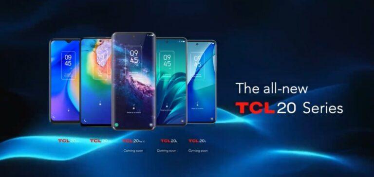 TCL, yeni akıllı telefonlarını CES 2021'de duyurdu!