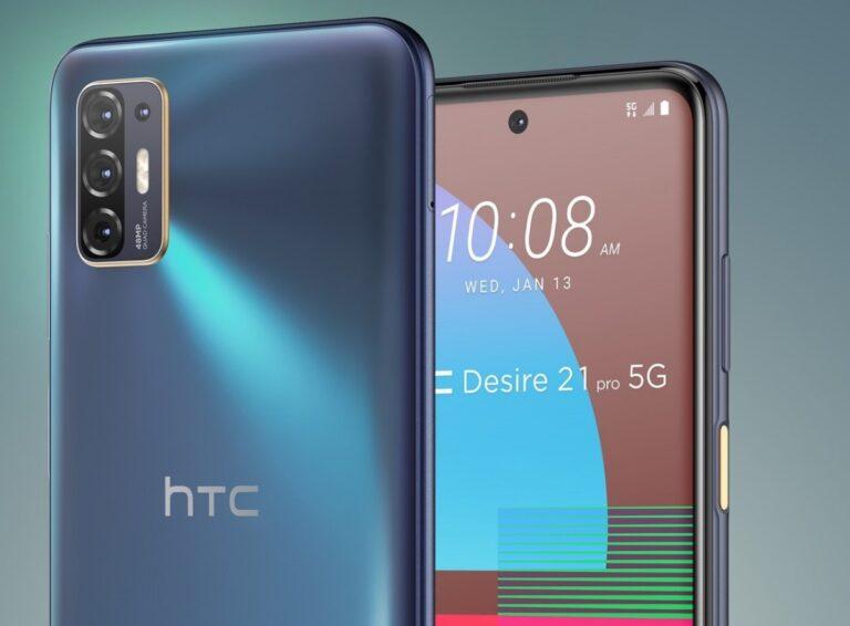 HTC Desire 21 Pro 5G tanıtıldı! İşte özellikleri