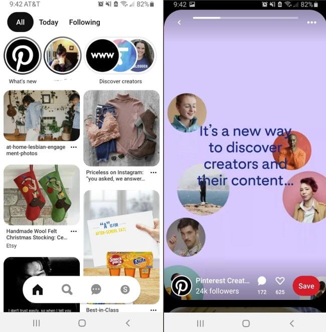 Pinterest hikayeler özelliğini test ediyor!