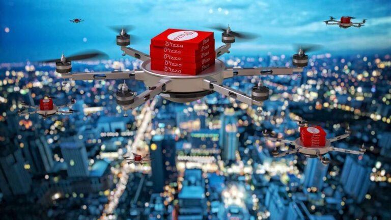 Pizza Hut drone ile pizza dağıtmaya başlıyor!
