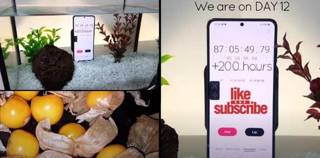 Samsung Galaxy S21, 12 günlük su altı testinden geçiyor