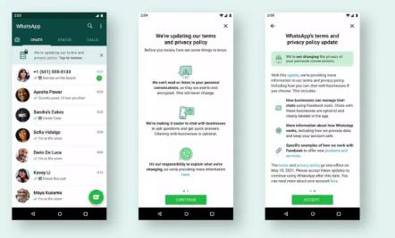 WhatsApp gizlilik politikasını yeniden tanıtıyor