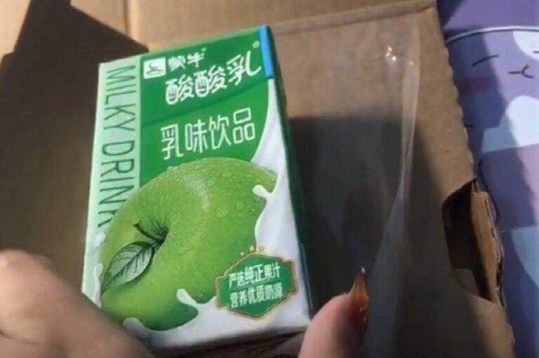 iPhone için 1500 dolar ödedi, eve elmalı yoğurt geldi