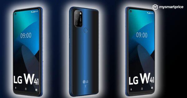 LG W41 serisi üç telefonla geliyor!