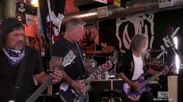 Twitch Metallica BlizzCon performansını sansürledi!