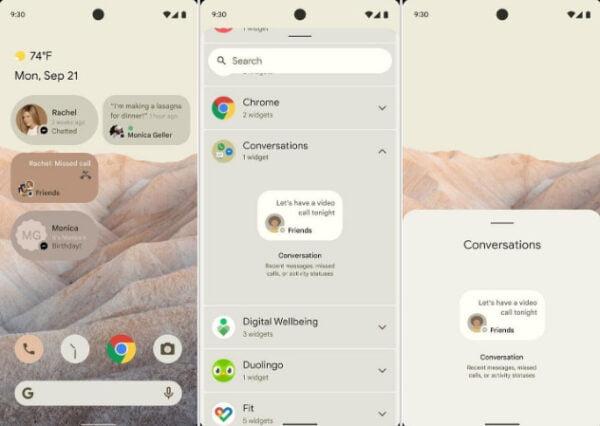 Android 12 için bazı özelliler ortaya çıktı!