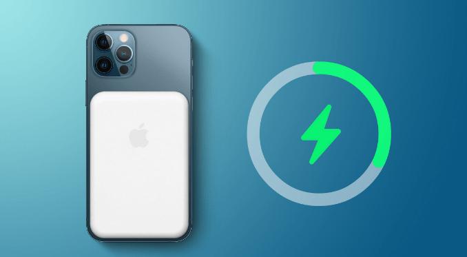 Apple manyetik bir iPhone pil paketi üzerinde çalışıyor