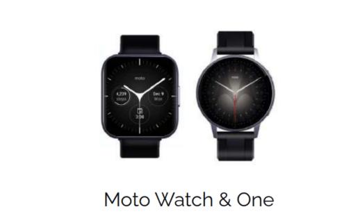 Motorola saatleri geliyor! Moto G, Watch ve Moto One