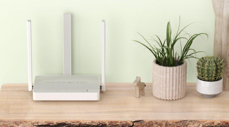 Keenetic City kablosuz router ile geniş kablosuz ağ mümkün