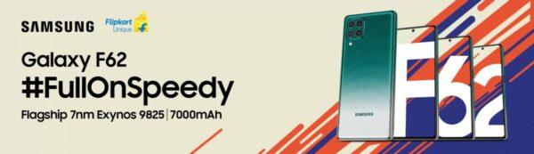 Samsung Galaxy F62 geliyor! İşte özellikleri