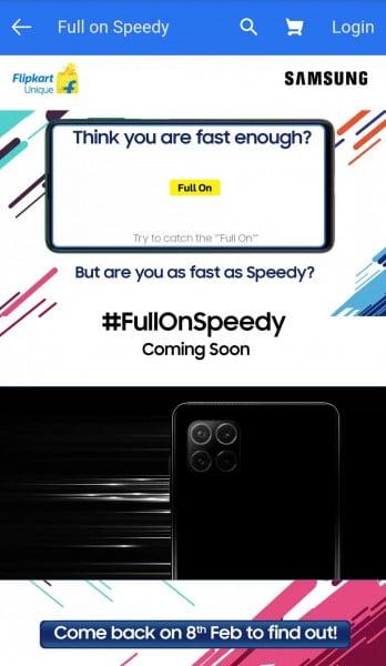Samsung Galaxy F serisi geliyor! Yeni dört kameralı telefon