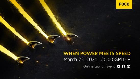 Poco F3 ve X3 Pro geliyor, resmi lansman 22 Mart'ta!