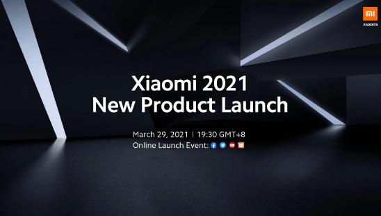 Xiaomi, 29 Mart'ta yeni ürün lansman etkinliğini duyurdu