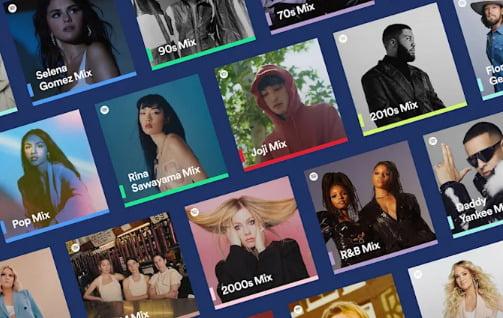 Spotify kişiselleştirilmiş mixler yenileniyor!