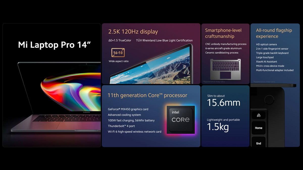 Xiaomi,yeni dizüstü bilgisayarını duyurdu!
