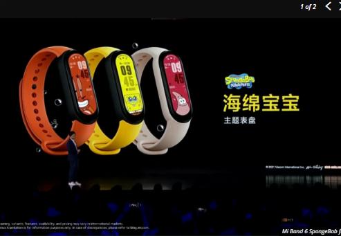 Xiaomi Mi Smart Band 6 piyasaya sürüldü! İşte fiyatı