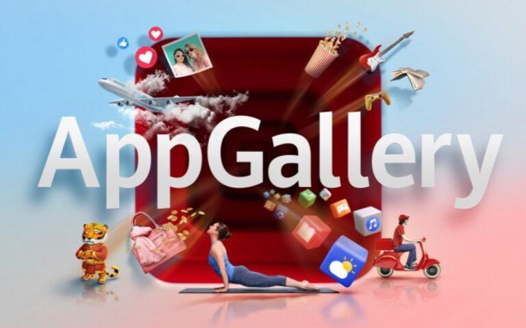 Huawei AppGallery 530 milyondan fazla aktif kullanıcıya ulaştı!