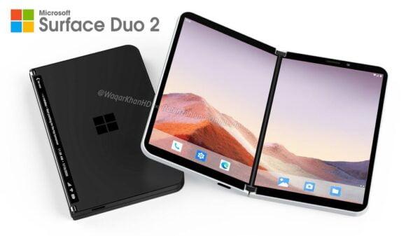 Microsoft Surface Duo 2 5G ve geliştirilmiş kamera ile geliyor