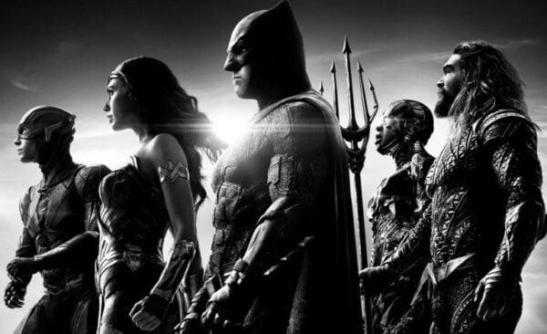 Justice League'siyah beyaz versiyonu HBO Max'e geliyor