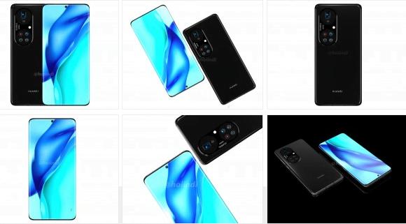 Huawei P50 Pro+ görüntüleri beş kamera tasarımını ortaya çıkardı!