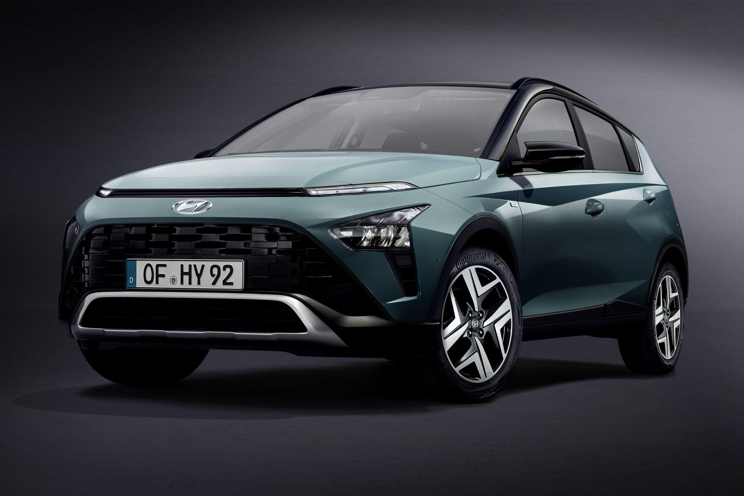 Türkiye'de üretilecek Hyundai Bayon tanıtıldı!