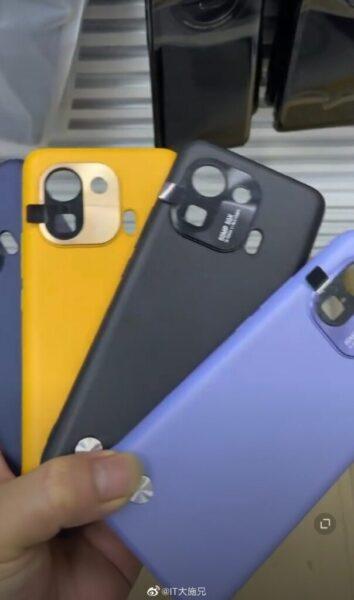 Xiaomi Mi 11 Pro kamera modülü tasarımı ortaya çıktı