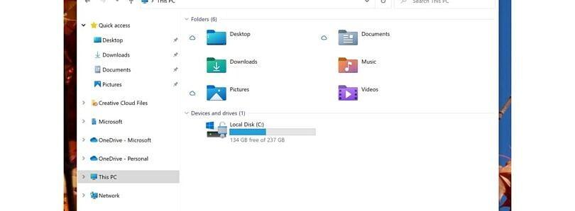 Yeni Windows 10 tasarımı