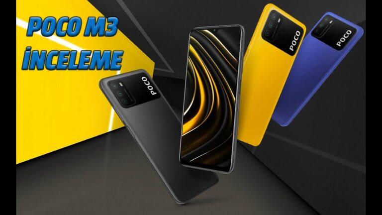 POCO M3 akıllı telefon incelemesi: 6000mAh pile sahip!
