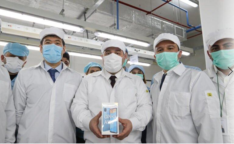 Oppo Türkiye fabrikasında üretime başladı