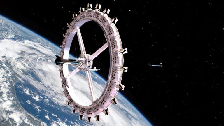 Ve Uzay Oteli açılıyor
