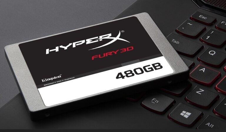HyperX Fury 3D 480GB SSD ile uygun fiyata yüksek performans