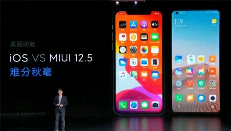 MIUI 12.5 alacak tüm Xiaomi modelleri