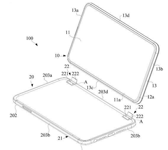 OPPO, Microsoft Surface Book benzeri bir cihaz için patent tasarımı yapıyor