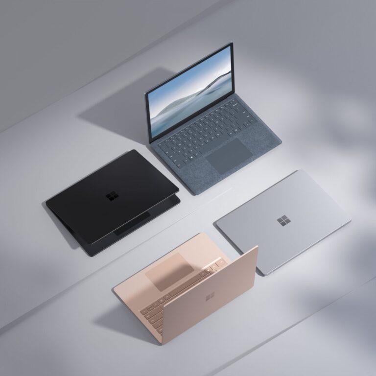 Microsoft, AMD ve Intel işlemcili Surface Laptop 4'ü duyurdu
